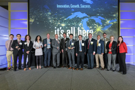 SPARK 2016 and 2017 FastTrack Award winners.