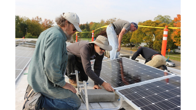 With Firehouse Solar Installation Ypsi Continues Rise As