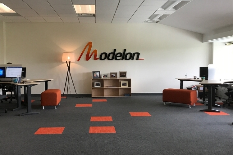 The interior of Modelon's Ann Arbor office.