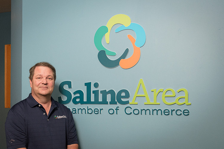 Saline Area Chamber of Commerce executive director John Olsen.