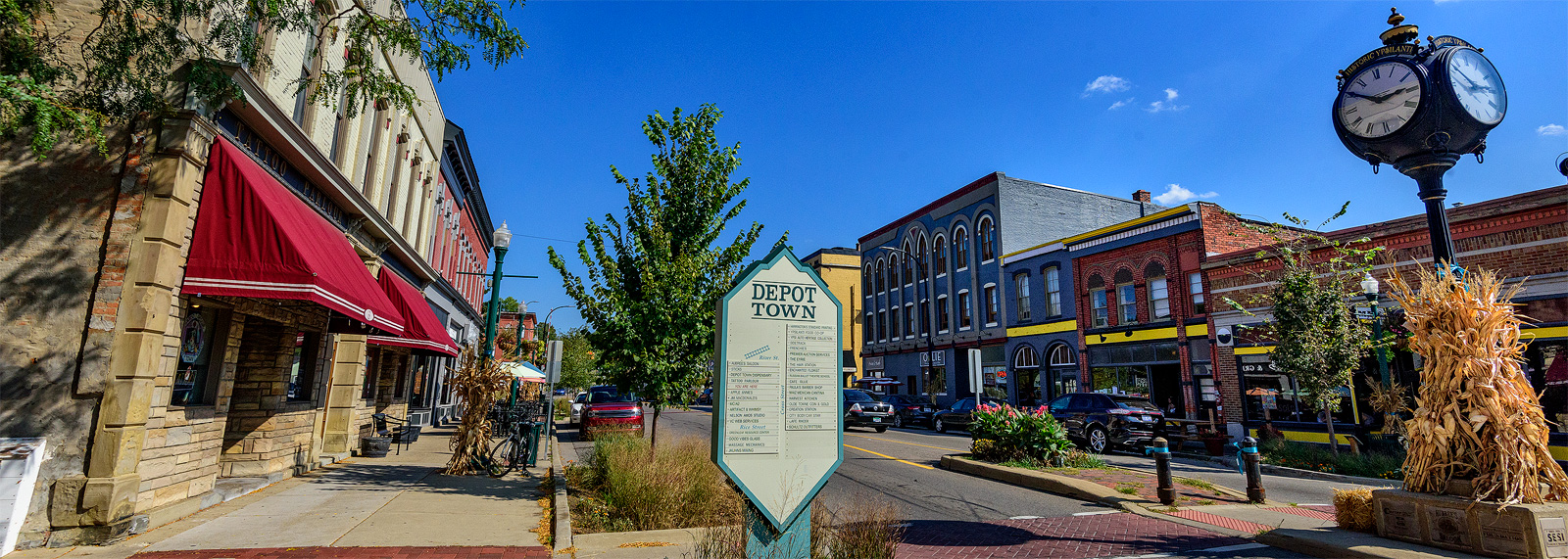 Depot Town in Ypsilanti <span class='image-credits'>Doug Coombe</span>