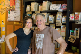 Kath and John Roos at RoosRoast Liberty