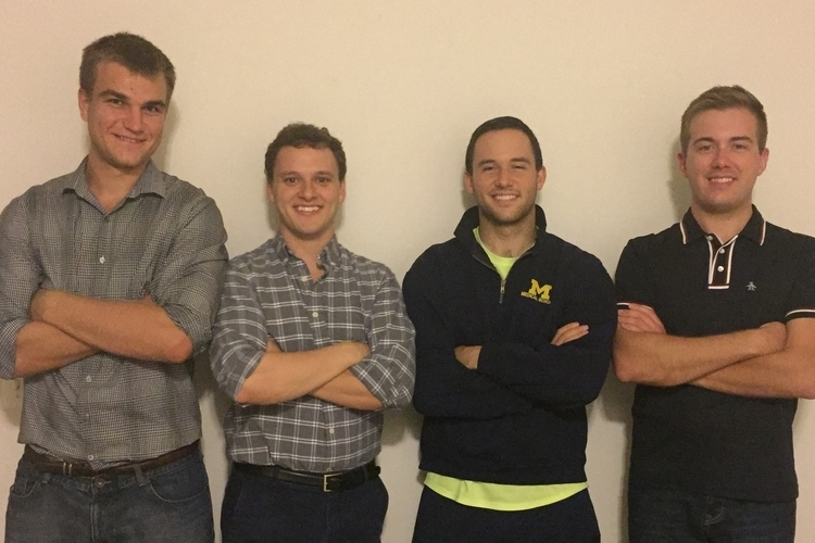Staffers at Soft Lesion Analytics, one of this year's Accelerate Michigan semifinalists.