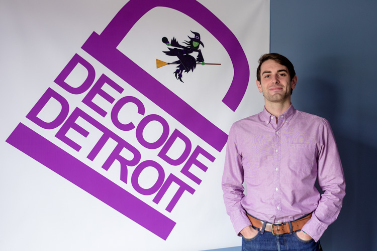 Patton Doyle at Decode Detroit