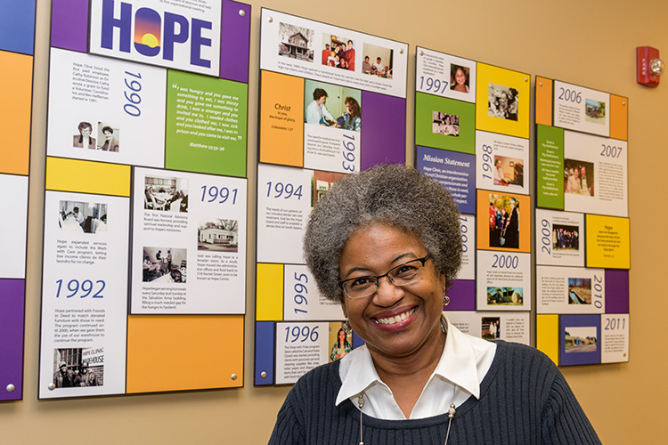Hope Clinic Social Work Manager Denese Brown