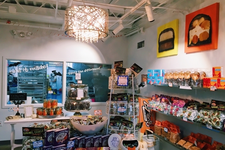 Zingerman's Candy Manufactory interior.
