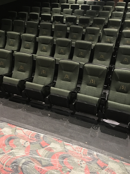 The State Theatre's new seats.