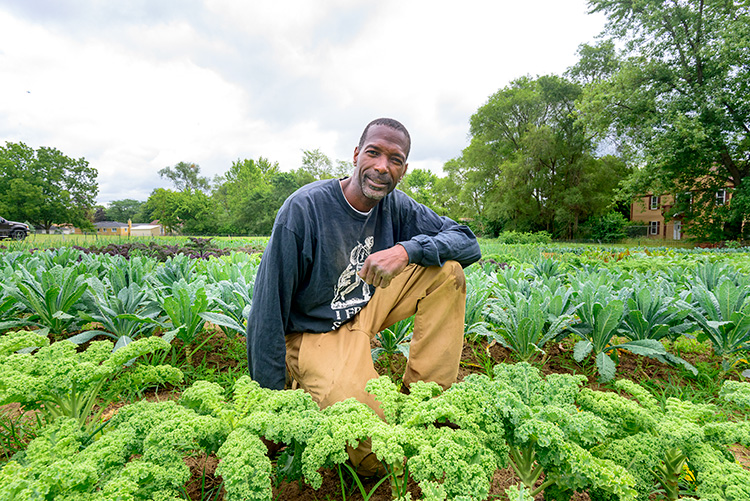 Melvin Parson of We The People Growers Association