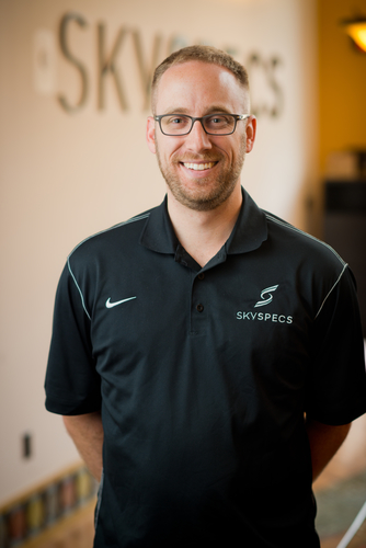 SkySpecs cofounder and CEO Danny Ellis.