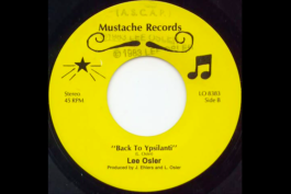 "Lee Osler's ""Back to Ypsilanti"" on vinyl."