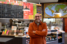 Steve Mangigian at Zingerman's Coffee Co.