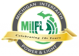 Michigan Interfaith Power and Light logo.
