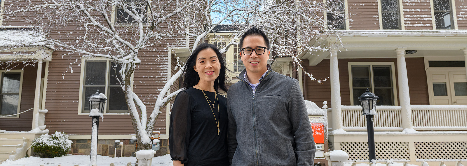 Michigan Language Center owners Julie and Moses Lee