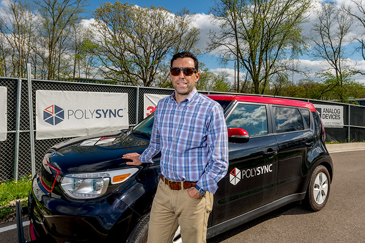 Jay Ellis of PolySync at MCity