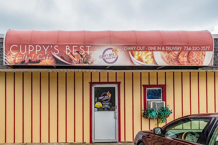 Cuppy's Best Soulful Cafe on Ecorse Road