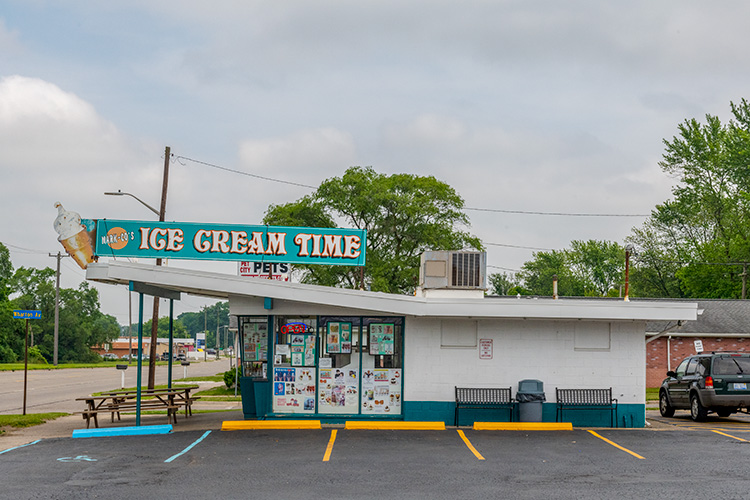 Ice Cream Time on Ecorse Road