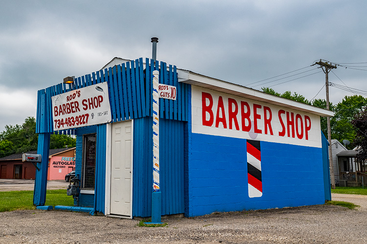 Rod's Barber Shop on Ecorse Road