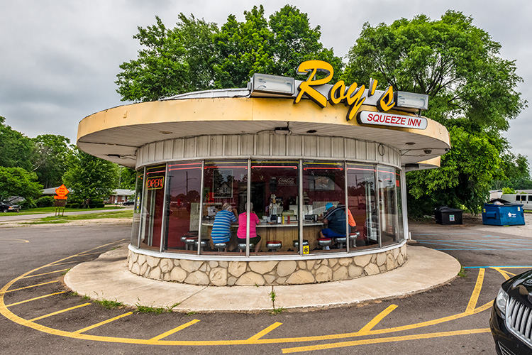 Roy's Squeeze Inn on E Michigan Avenue