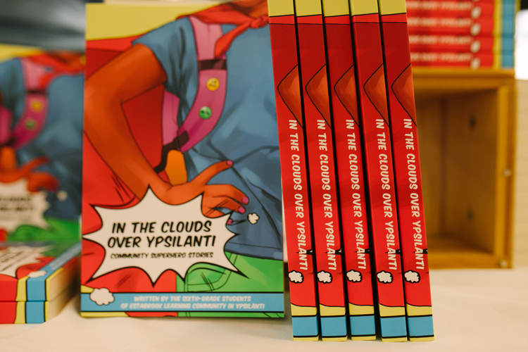 Copies of In the Clouds Over Ypsilanti.