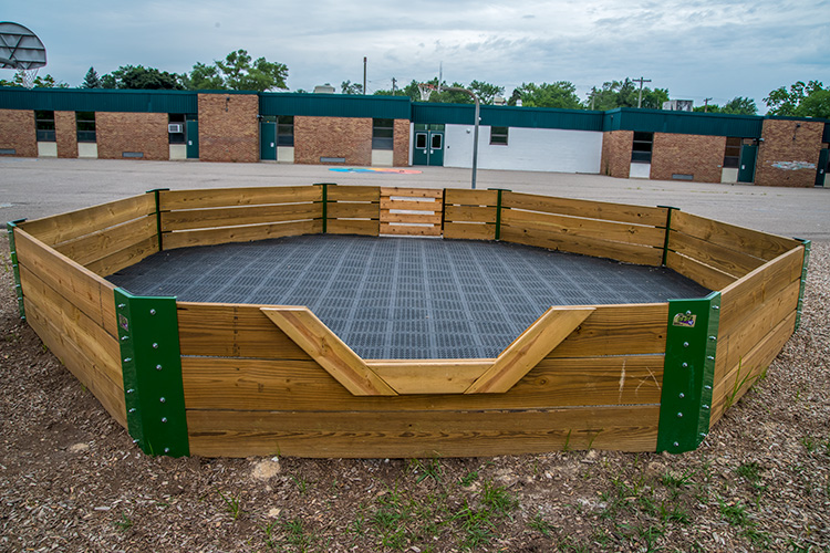 The Gaga Pit at Pittsfield Elementary
