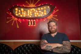 Jesse Kranyak at The Wurst Bar