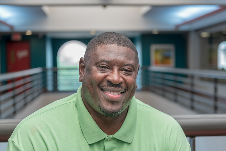 Michigan Works! Southeast service center manager Johnny Epps
