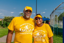 Bryan Foley and Cherisa Allen of the Parkridge Summer Festival Steering Committee