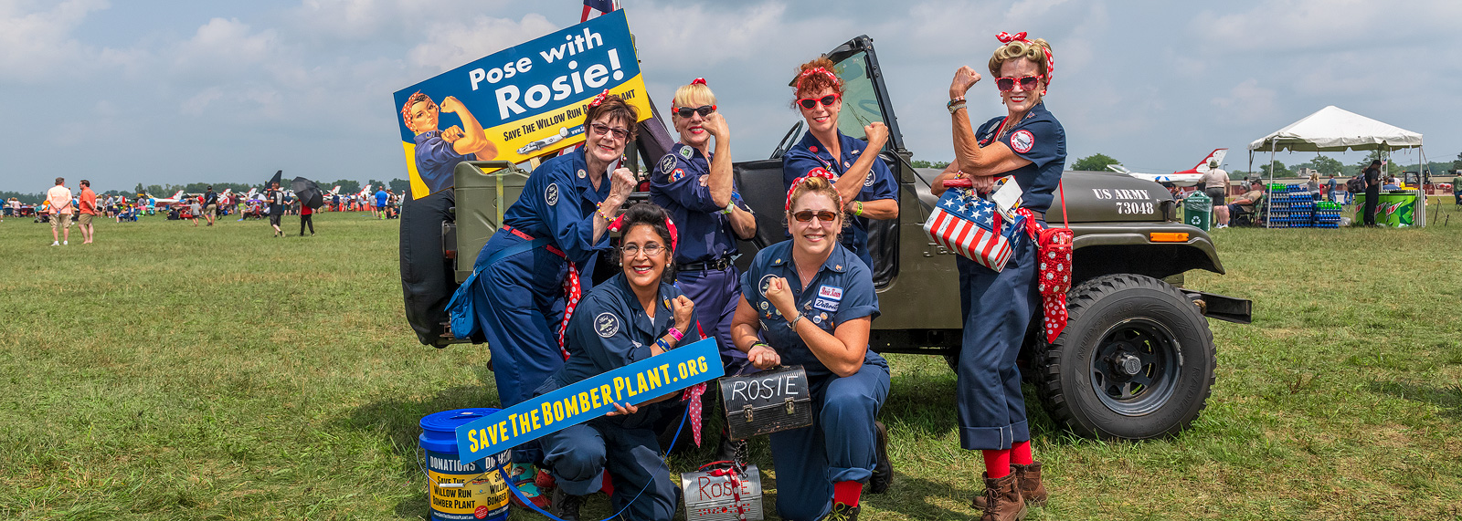 Willow Run Rosies at Thunder Over Michigan