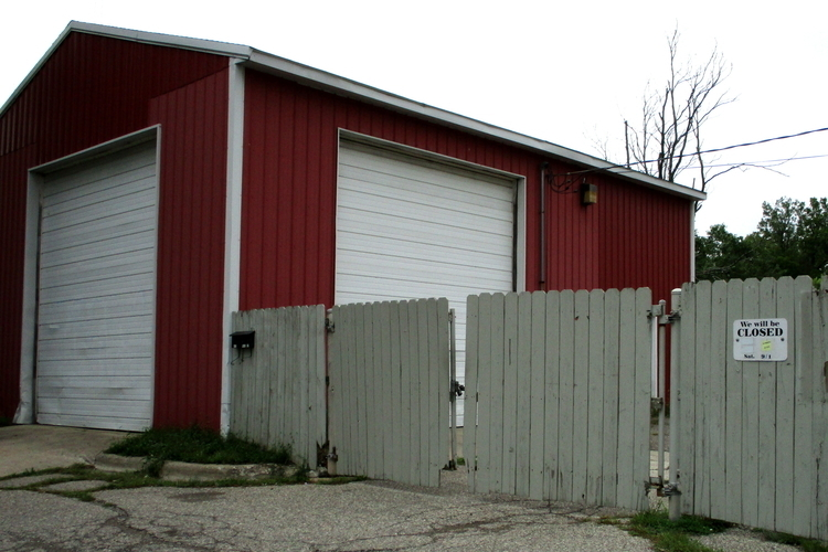 Ypsilanti's recycling center, now closed.