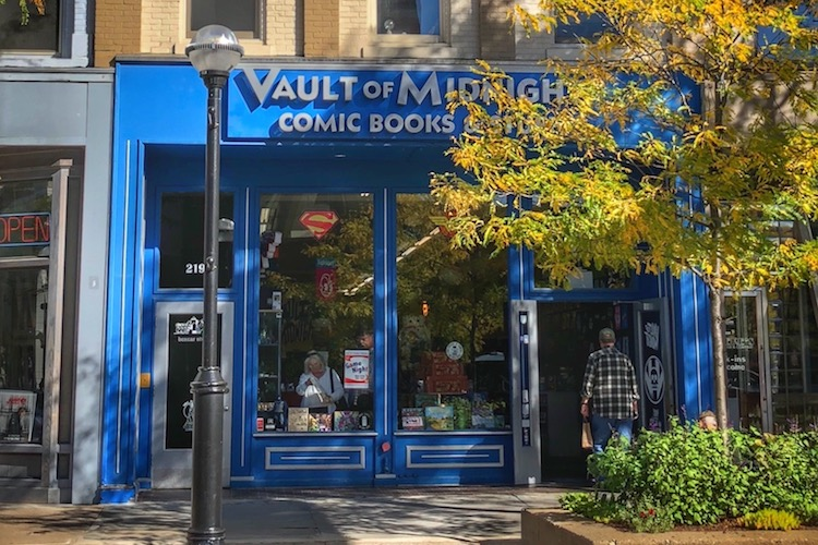 Vault of Midnight's building in downtown Ann Arbor