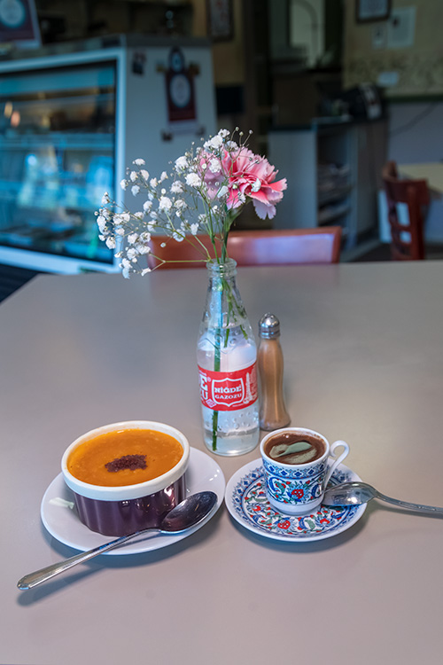 Red Lentil Soup and Turkish Coffee at Ayse's Turkish Cafe