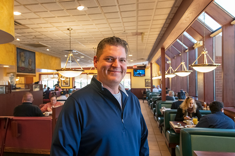 Nick's Original House of Pancakes' owner Nick Panos