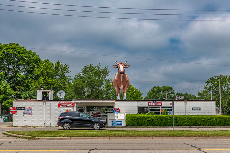 Carry Dairy on Ecorse Road - a possible area for increased retail in Ypsilanti Township