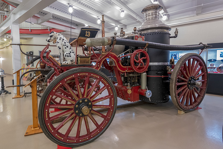 The Michigan Firehouse Museum in Ypsilanti