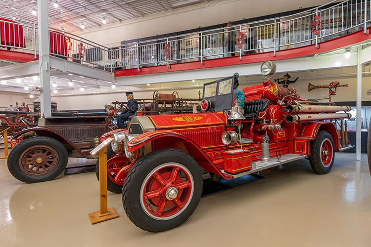 The Michigan Firehouse Museum