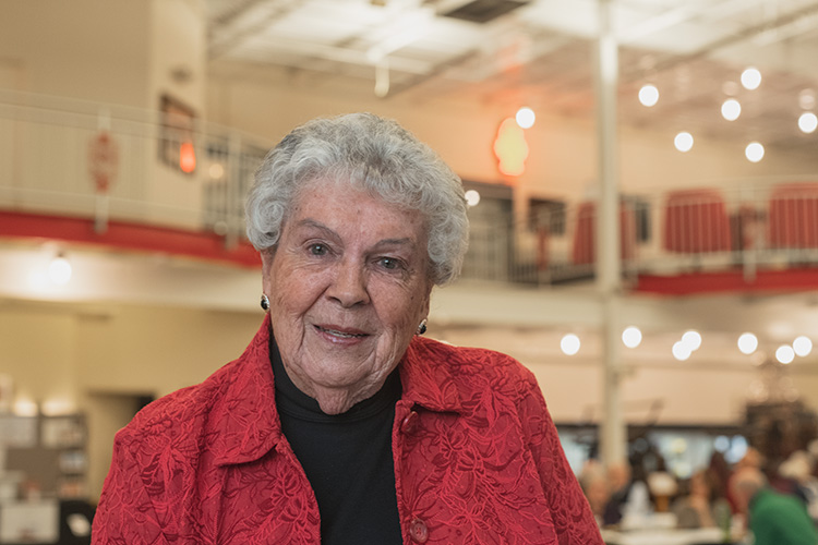 Michigan Firehouse Museum co-founder Norma Weaver
