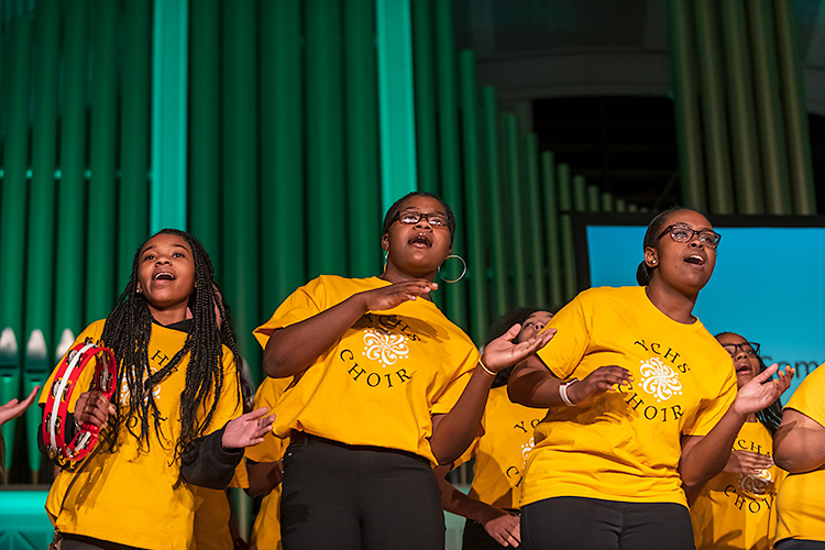 The Ypsilanti Community High School Choir