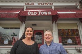 Old Town Tavern Manager Theresa McCarter and owner Chris Pawlicki