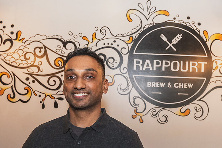 Rappourt co-owner Swetang Patel