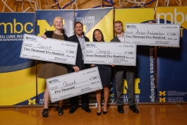 Michigan Business Challenge participants can win up to $100,000.
