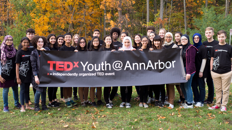 TEDxYouth@AnnArbor's youth organizers.