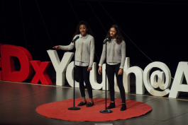 Speakers at TEDxYouth@AnnArbor.