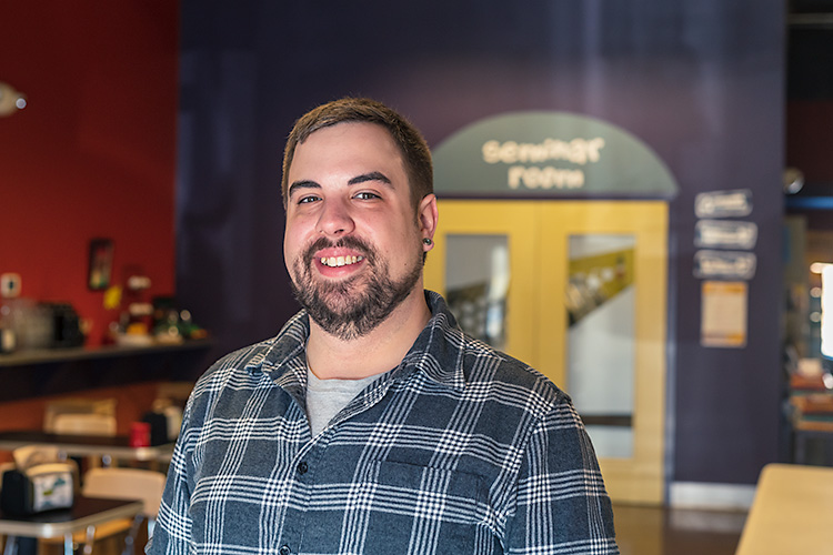 Zingerman's Roadhouse front-of-house manager Chris Domienik