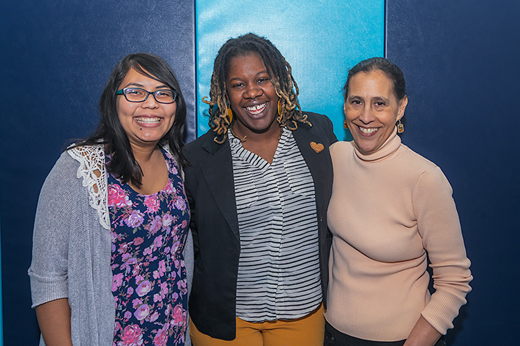Maria Ibarra-Frayre, Desirae Simmons, and Julie Quiroz of Untold Stories of Liberation and Love
