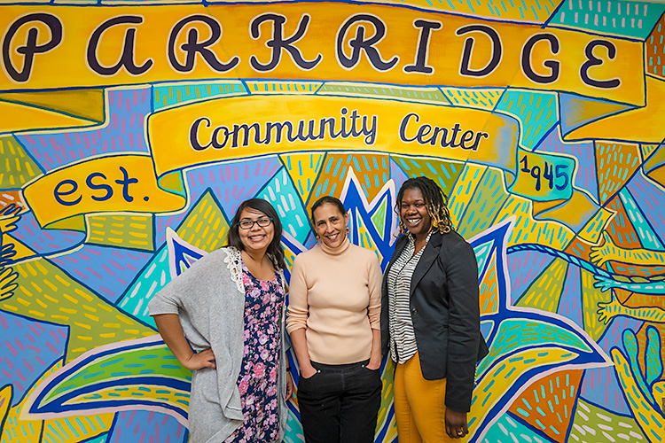 Maria Ibarra-Frayre, Julie Quiroz, and Desirae Simmons of Untold Stories of Liberation and Love