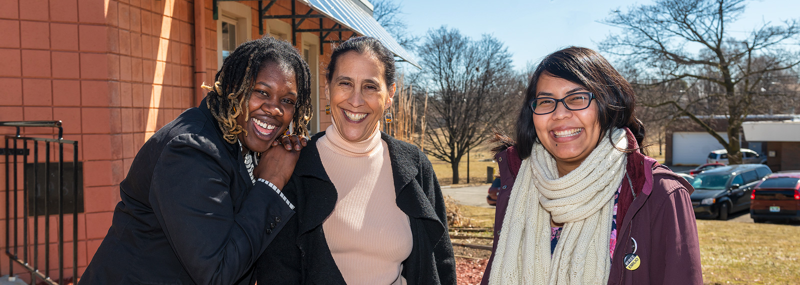 Desirae Simmons, Julie Quiroz, and Maria Ibarra-Frayre of Untold Stories of Liberation and Love <span class=&apos;image-credits&apos;>Doug Coombe</span>