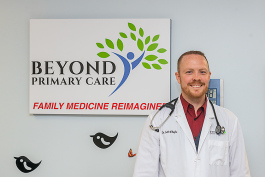 Dr. Jeff O'Boyle at Beyond Primary Care.