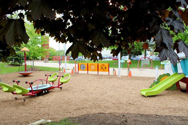 The new playscape.