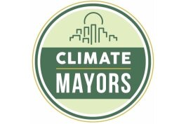 Climate Mayors logo.
