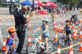 Last year's EMU Bike Rodeo.